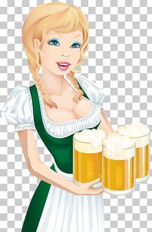 Oktoberfest Beer Cartoon PNG