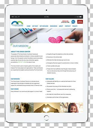 Big Imprint Muscatine Web Page Web Design The Crisis Center PNG