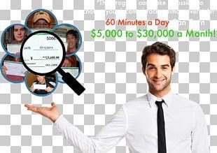 Businessperson Business Plan Digital Marketing Management PNG