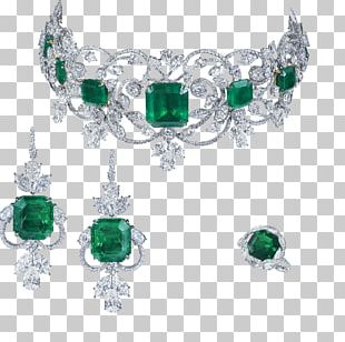 Emerald Jewellery Earring Moussaieff Red Diamond Necklace PNG
