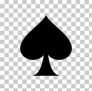 Suit Playing Card Ace Of Spades Espadas PNG