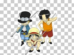 Monkey D. Luffy Portgas D. Ace Sabo Donquixote Doflamingo One Piece PNG