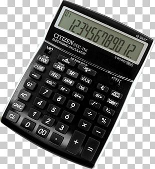 Amazon.com Calculator Casio DJ-120D Office Supplies PNG