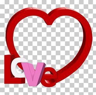 Valentine's Day Frames PNG