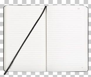 Open Moleskine Notebook PNG