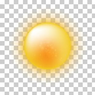 Yellow Sphere Egg Computer PNG