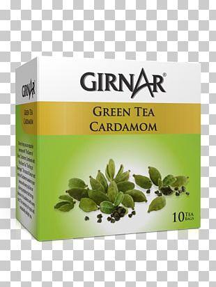Green Tea Masala Chai Tea Bag Cardamom PNG
