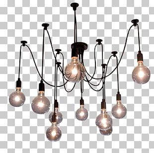 Pendant Light Light Fixture Incandescent Light Bulb Lamp PNG