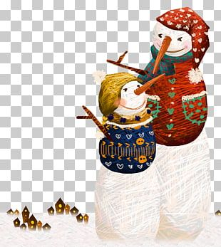 Scarecrow Snowman PNG