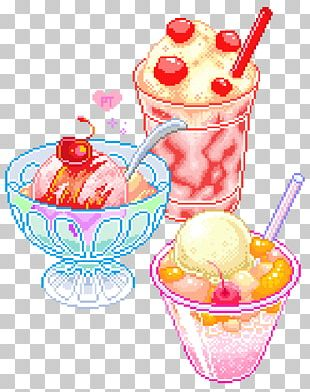 Ice Cream Sundae Parfait PNG