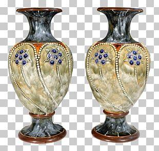 Vase Ceramic Pottery Royal Doulton Urn PNG