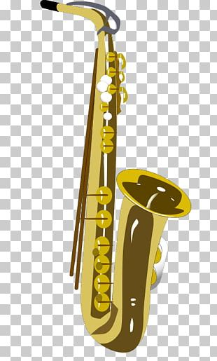 Saxophone Cartoon PNG