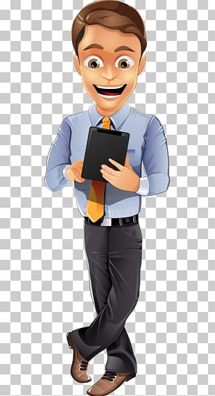 Businessperson Character PNG