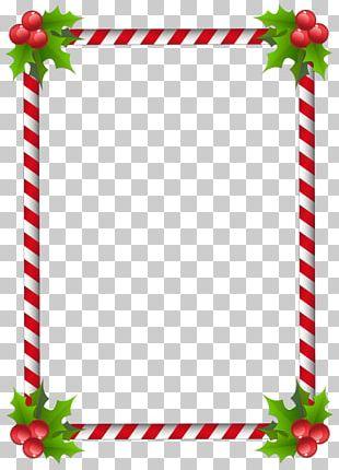 Santa Claus Christmas Tree Frames PNG