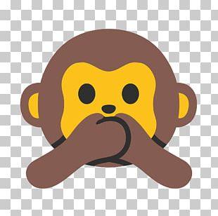 Emojipedia Three Wise Monkeys Evil PNG