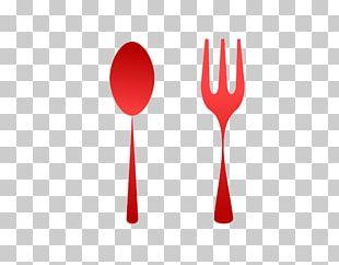 Fork Spoon Logo Font PNG