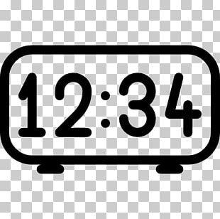 Digital Clock Timer Alarm Clocks Computer Icons PNG