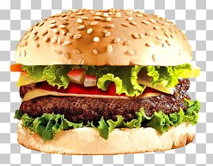 Hamburger Cheeseburger Fast Food Steak Burger PNG