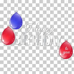 Happy Birthday To You Greeting Card Gift PNG