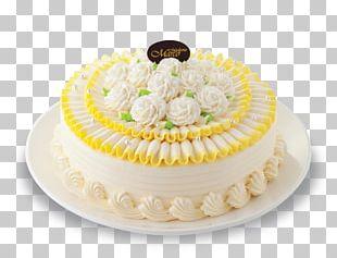 Cream Pie Sugar Cake Cake Decorating Buttercream PNG