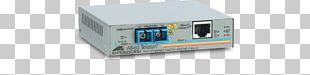 Allied Telesis Fiber Media Converter Multi-mode Optical Fiber Fast Ethernet PNG
