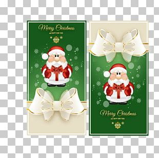 Santa Claus Wedding Invitation Christmas Card PNG