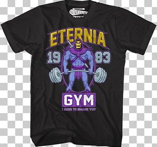 Skeletor T-shirt He-Man Masters Of The Universe PNG