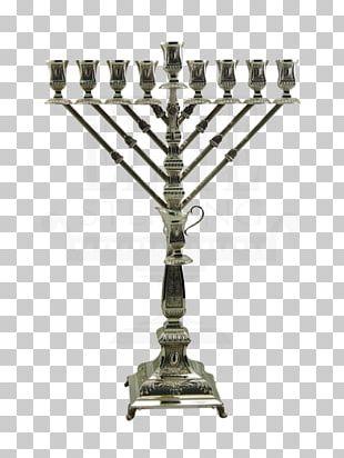 Menorah Hanukkah Jewish Holiday Jewish Ceremonial Art Judaism PNG