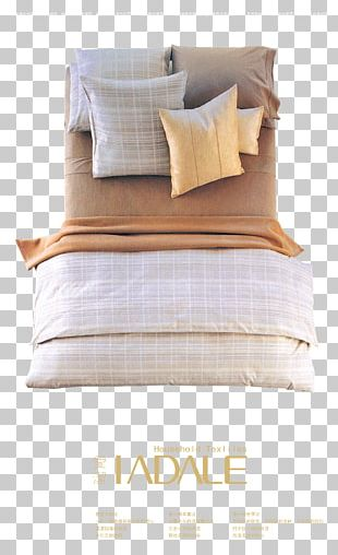 Pillow Mattress Bed Frame Blanket PNG