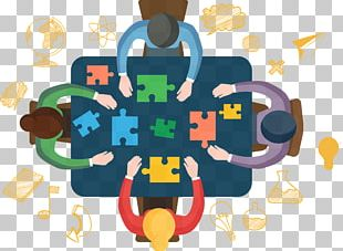 Teamwork Illustration PNG