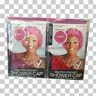 Shower Caps Rubber Bands Water PNG