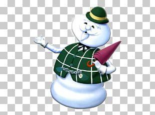 Christmas Day Snowman Hit Blog PNG