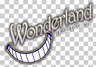 Wonderland Brewing Company Beer Logo India Pale Ale Brewery PNG