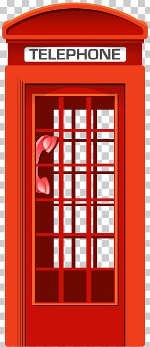 Telephone Booth Telephony Red Telephone Box PNG