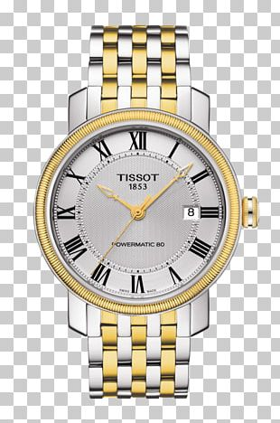 Tissot Le Locle Automatic Watch Watch Strap PNG