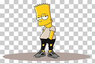 Bart Simpson Homer Simpson Adidas Yeezy Drawing PNG