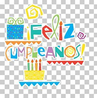 Feliz Cumpleaños Modern PNG
