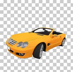 Sports Car Convertible Electric Car PNG