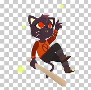 Night In The Woods Fan Art Game Cat PNG