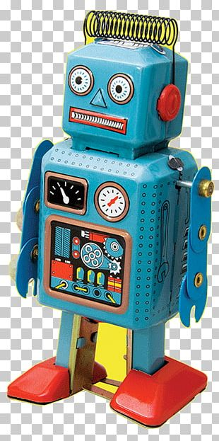 Vintage Toys: Robots And Space Toys Tin Toy Robots RoboSapien PNG
