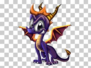 Spyro The Dragon Illustration PNG