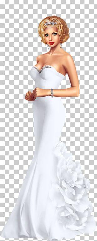 Wedding Dress Bride Woman PNG