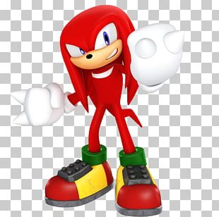 Knuckles The Echidna Pac-Man World 2 Character Digital Art PNG