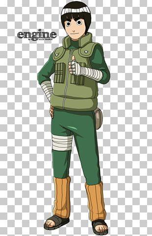 Rock Lee Kakashi Hatake Naruto Neji Hyuga Might Guy PNG