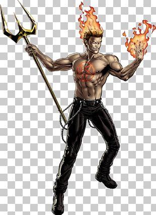 Marvel: Avengers Alliance Daimon Hellstrom X-23 Johnny Blaze Marvel Universe PNG