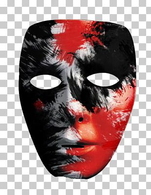 Mask Drawing Halloween Costume PNG