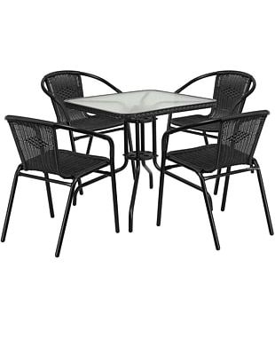 Table Dining Room Garden Furniture Patio Chair PNG
