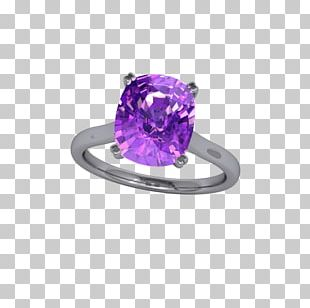 Crown Jewels Of The United Kingdom Amethyst Jewellery Ring Purple PNG