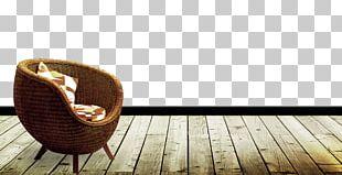 Chair Hardwood Pavement Floor PNG
