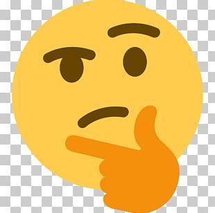 Discord Social Media Emoji Think Thank Thought PNG